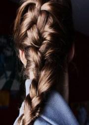 hair braids long thick