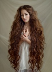 hairstyles thick long