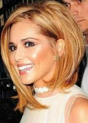 hairstyles bangs medium length