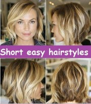 quick and easy hairstyles thick