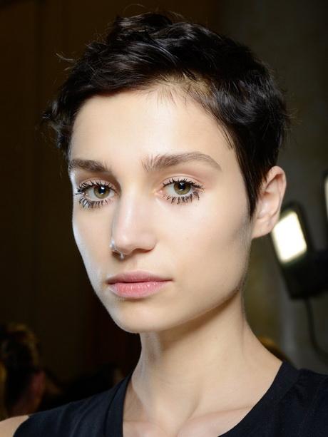 Model Pixie Cut