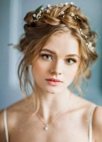Modern hairdos for weddings