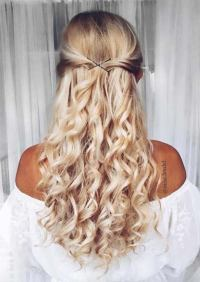 Hairstyle ideas for long curly hair