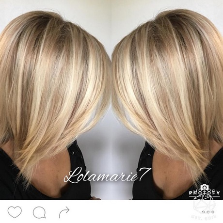 30 Blonde Medium Length Bob Hairstyles 2018 Hairstyles Ideas