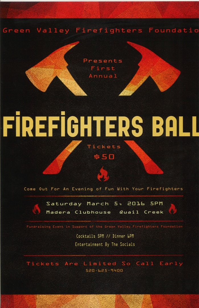 1st Annual Firefighter Ball  Green Valley Fire District