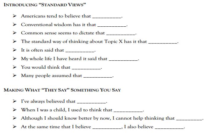 Starter Sentences For Essays Interesting Topic Sentence Starters For