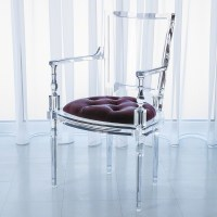 GLOBAL VIEWS | products | Marilyn Acrylic Arm Chair ...