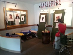 Faces and Voices Exhibit opening - displayed May 3rd at the Center for Independence.