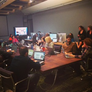 The Coke 'war room' posts on social media in real time during the Super Bowl.
