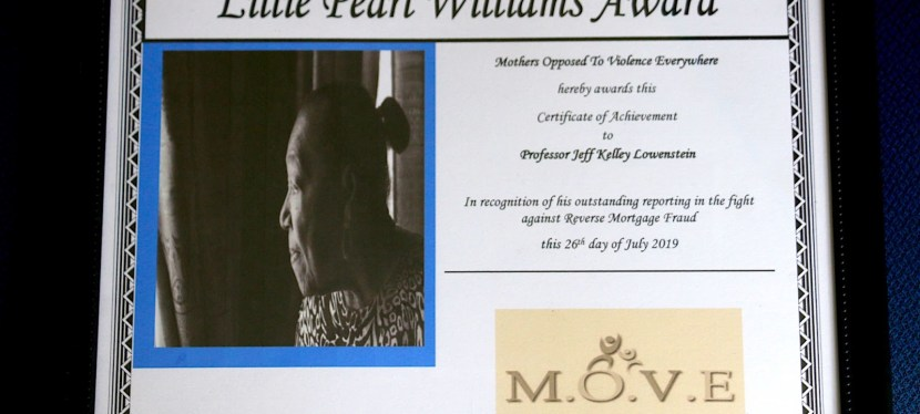 Jeff Kelly Lowenstein Wins Lillie Pearl Williams Award