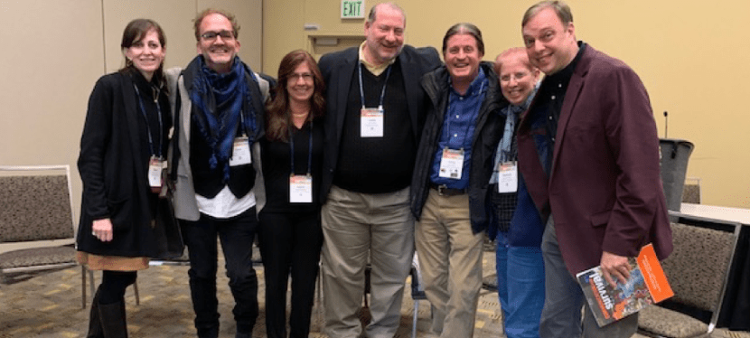 Drs. Anton and Peterson Participate on NCA Media Ecology Panel