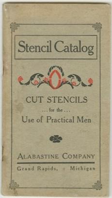 Stencil catalog cover