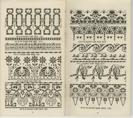 Stencil catalog