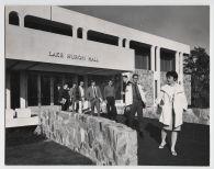Students leave Lake Michigan Hall