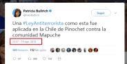 20140819 - Patricia bullrich defiende a los mapuches