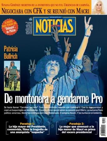 20170907-Patricia Bullrich De montonera a gendarme Pro-NOT-2124-001-TAPA-NOTICIAS-FINALv2