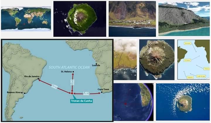 La isla más remota del mundo.