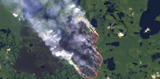 #PrayForAmazonía La #NASA publica imágenes que muestran cómo arde el amazonas en Brasil
