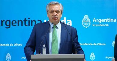 Alberto Fernández Aislamiento Social