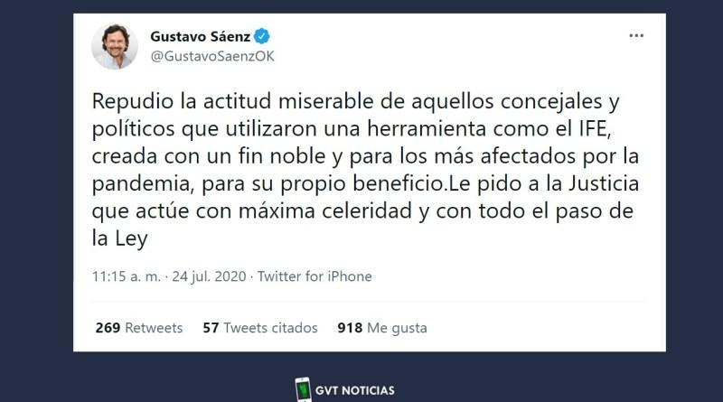 Repudio total a concejales de Salta anotados en la IFE