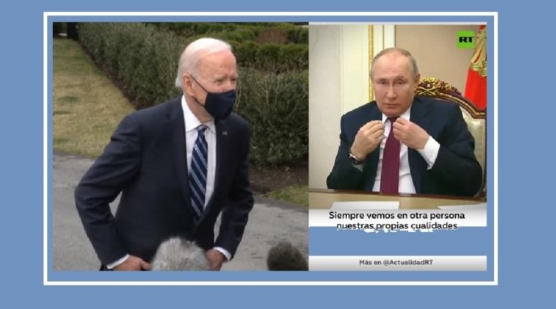 Biden asesino Rusia Putin espejo