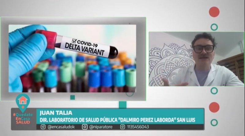 Método desarrollado en la provincia de San Luis permite detectar la variante Delta del Coronavirus.