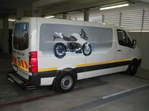 Перевозка мотоциклов на микроавтобусах и автовозах