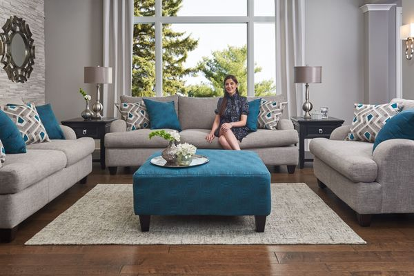 teal living room chair tiles epic sale on furniture gardner white paradise sofas from 799 99 599