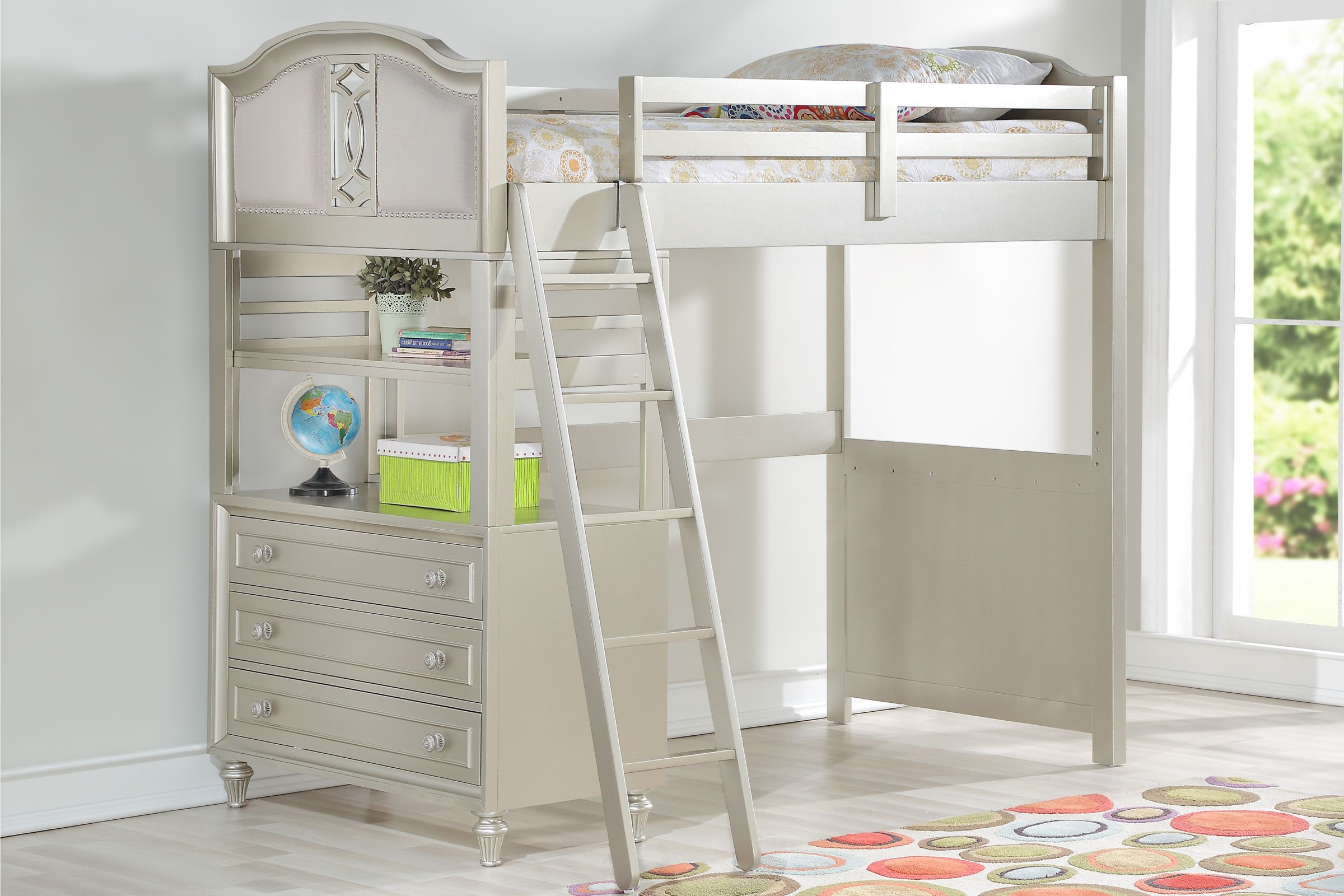 colleen 5 piece loft bed