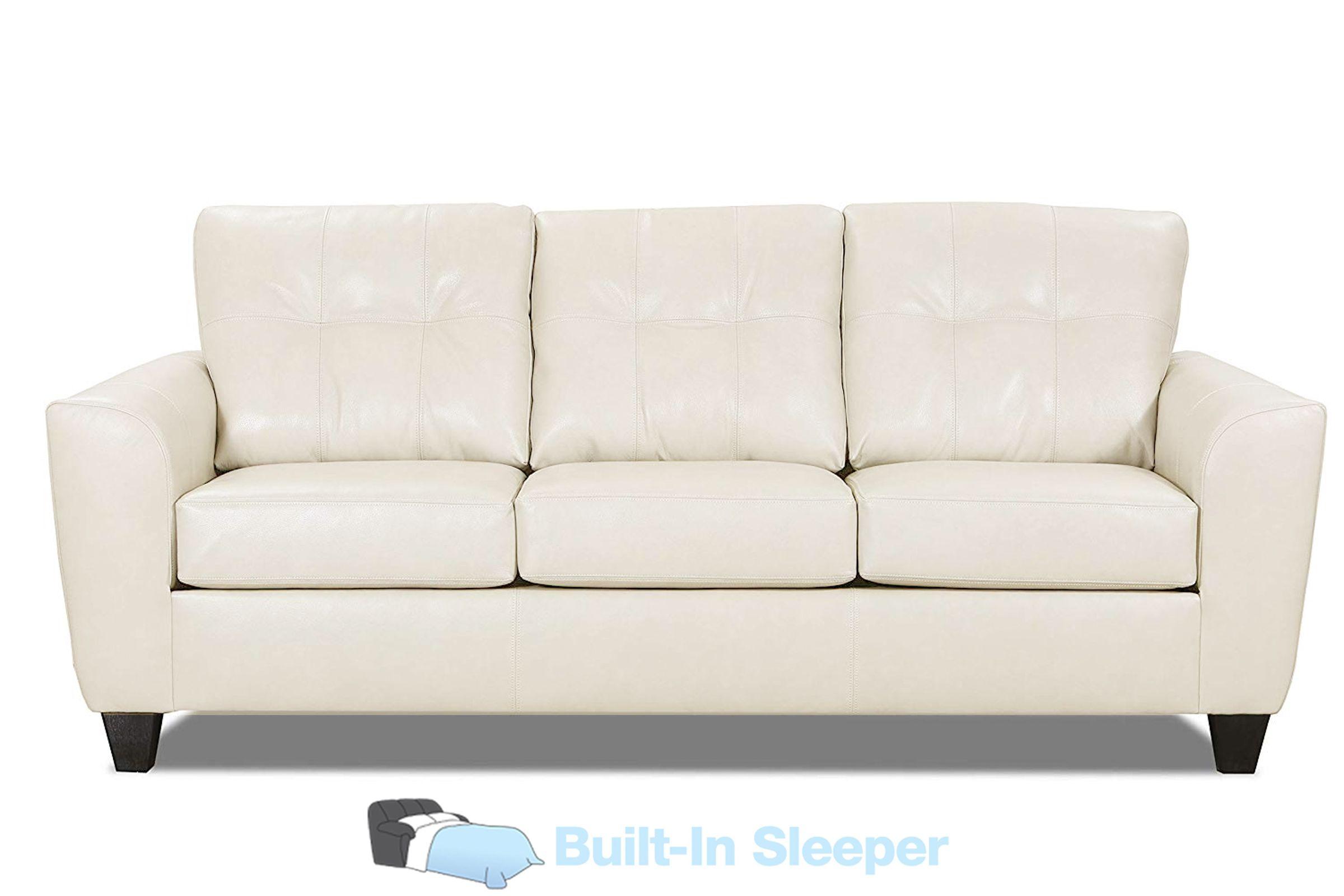 Cisco Leather Queen Sleeper Sofa At Gardner White