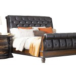 Cabernet King Sleigh Bed At Gardner White