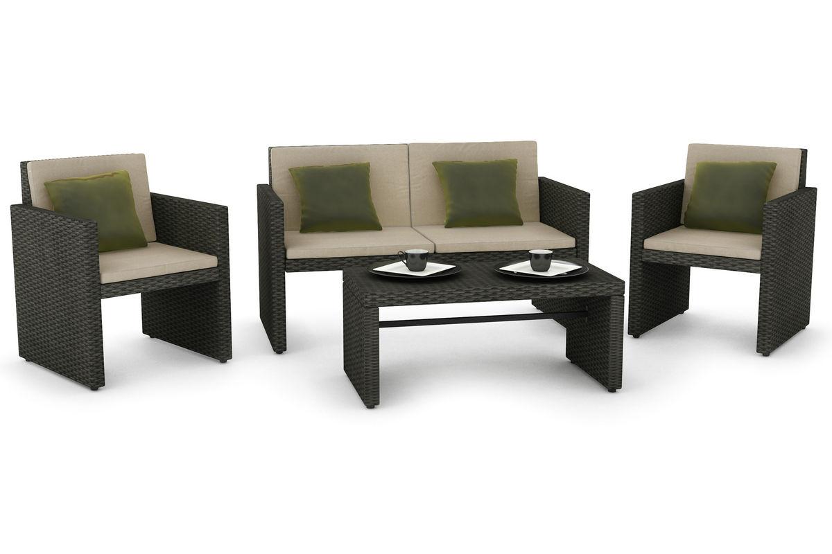 creekside 4 piece patio lounge set