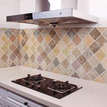 wallpaper for kitchen lowes tiles 厨房壁纸防油贴 多图 价格 图片 天猫精选 厨房壁纸