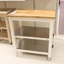 oak kitchen cart small stove 斯坦托厨房推车 多图 价格 图片 天猫精选 1499 00
