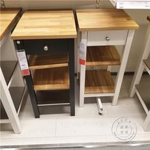 oak kitchen cart orange appliances 宜家斯坦托厨房推车 多图 价格 图片 天猫精选 999 00