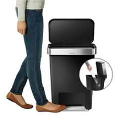 Simplehuman Kitchen Trash Can Table Tops Simplehuman垃圾桶 多图 价格 图片 天猫精选 1599 00