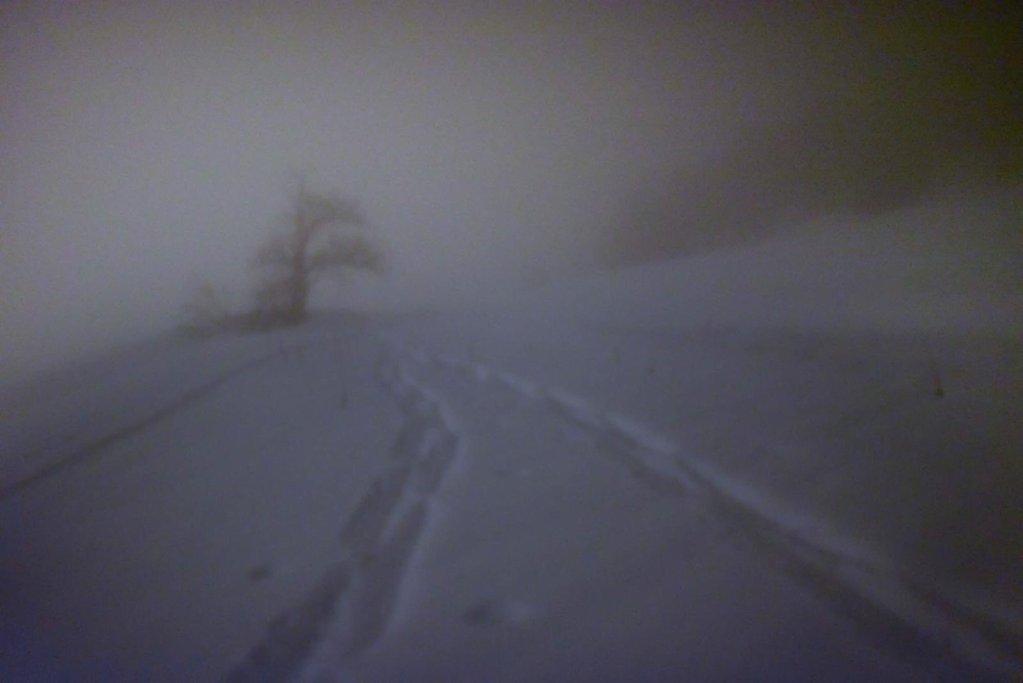 La nuit, dans les Alpes, il est difficile de se repérer hors des chemins balisés. Crédit : Mehdi Chebil