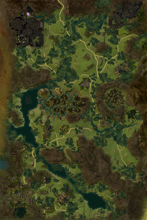 Metrica Province Map of POIs - Guild Wars 2 Life