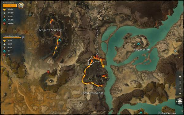 Guild Wars 2 Jumping Puzzle Highest Gear - Year of Clean Water