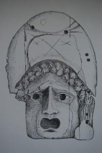 Ivory plaque (JE Lee, 'Isca Silurum')