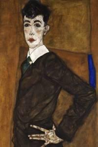 Egon Schiele, Portrait of Erich Lederer (1912-13)