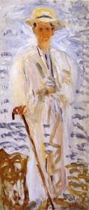 Richard Gerstl, Portrait of Alexander Zemlinsky (1908)