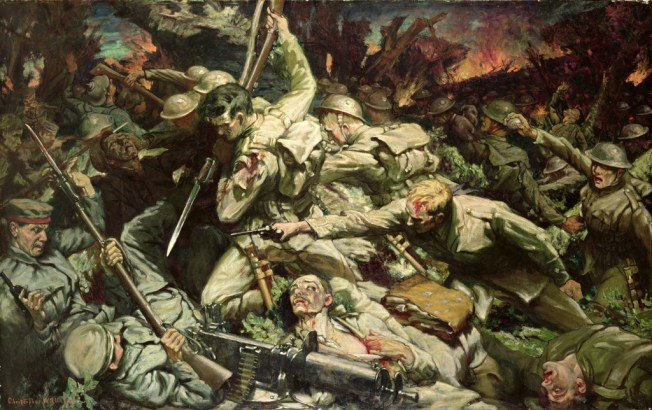 Christopher Williams, 'The charge of the Welsh Division at Mametz Wood'
