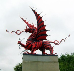 Welsh dragon memorial, Mametz (David Petersen)