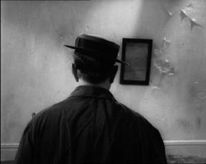 Buster Keaton and mirror