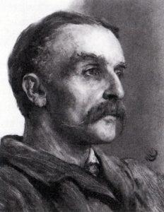 Portrait of Charles William Mansel Lewis by Hubert Herkomer