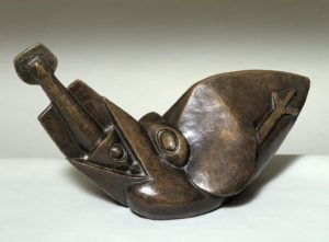 Bird Swallowing a Fish c.1913-4, cast 1964 Henri Gaudier-Brzeska 1891-1915 Purchased 1964 http://www.tate.org.uk/art/work/T00658