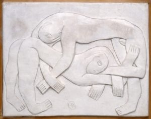 Wrestlers 1914, cast 1965 Henri Gaudier-Brzeska 1891-1915 Presented by Kettle's Yard Collection, Cambridge 1966 http://www.tate.org.uk/art/work/T00837