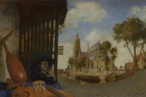 Carel Fabritius's 'A view of Delft'