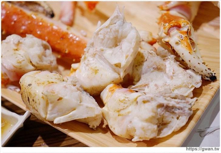 20190926190521 63 - 熱血採訪|一年一次帝王蟹價格大崩盤!台中最便宜的帝王蟹套餐就在菁選涮涮鍋